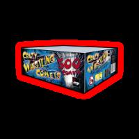 Crazy Whistling Comets 300 Shot - Jorge Fireworks
