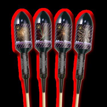 Mega 2000 ( Single Rocket ) - Zeus Fireworks