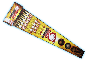 9 Knock Outs Rocket Pack - Gemstone Fireworks