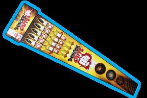 9 Knock Outs Rocket Pack - Gemstone Fireworks