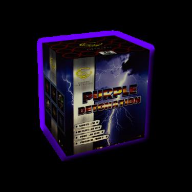 Purple Detonation - Gemstone Fireworks