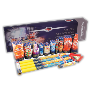 Silver Selection Box - Kimbolton Fireworks