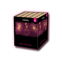 Pink Peony with Purple Tail Mine - Zeus Fireworks
